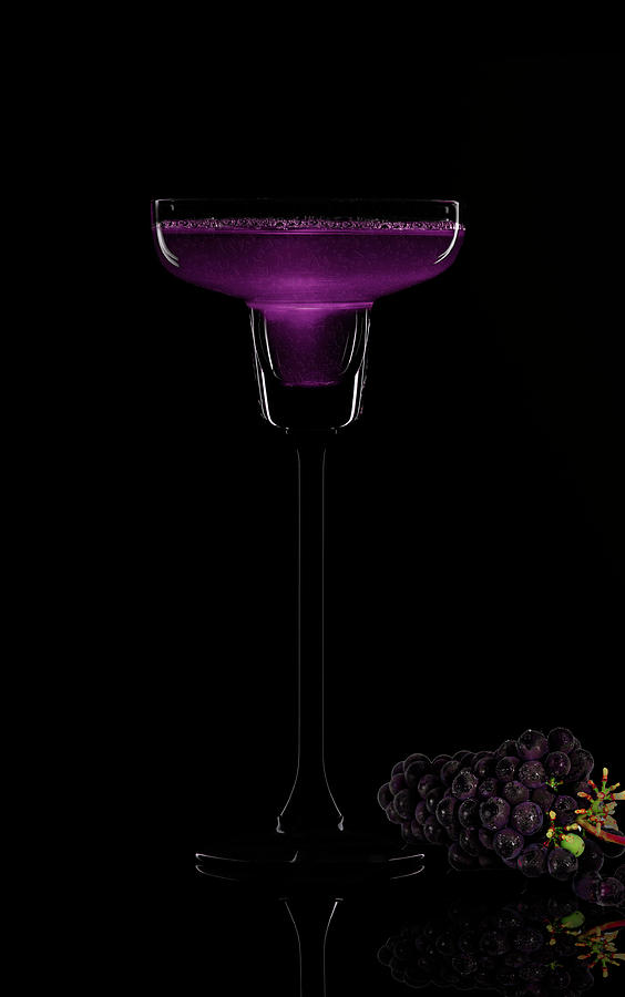 Grape Photograph - Grapes Cocktail  by Manjot Singh Sachdeva
