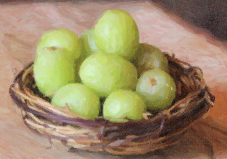 Grapes In Nest 5 Photograph