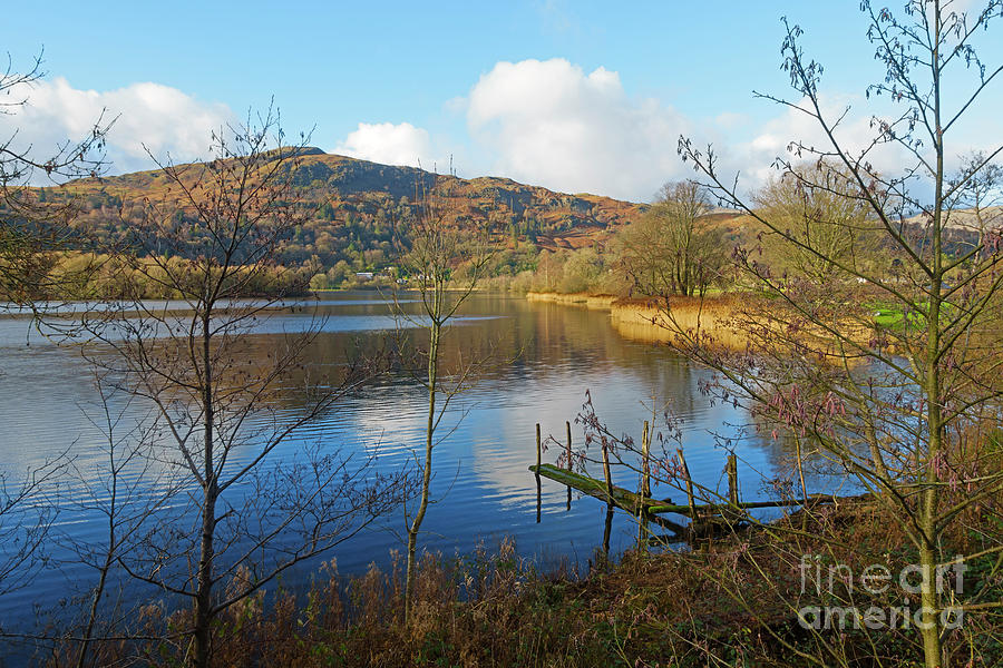 Grasmere Photograph - Grasmere In Late Autumn In Lake District National Park Cumbria by Louise Heusinkveld