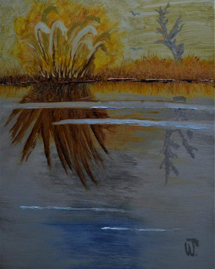 Grasses and Reflections  by Warren Thompson