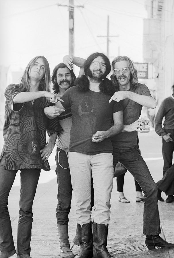 Grateful Dead Portrait Session In Sf Photograph by Michael Ochs Archives