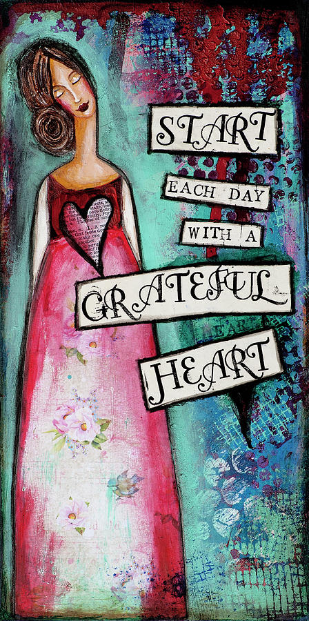 Grateful heart by Stanka Vukelic