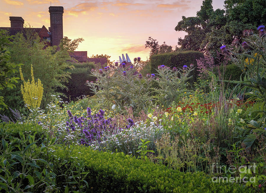Great Dixter Perennial Border by Perry Rodriguez