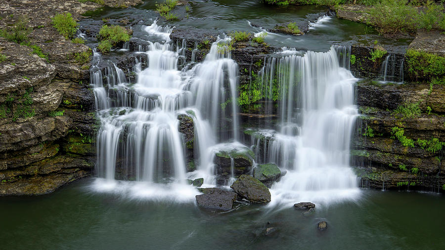 Great Falls on the Caney Fork River by Van Sutherland