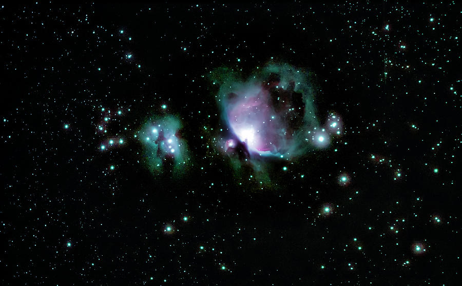 Great Orion Nebula M42 by Lon Dittrick