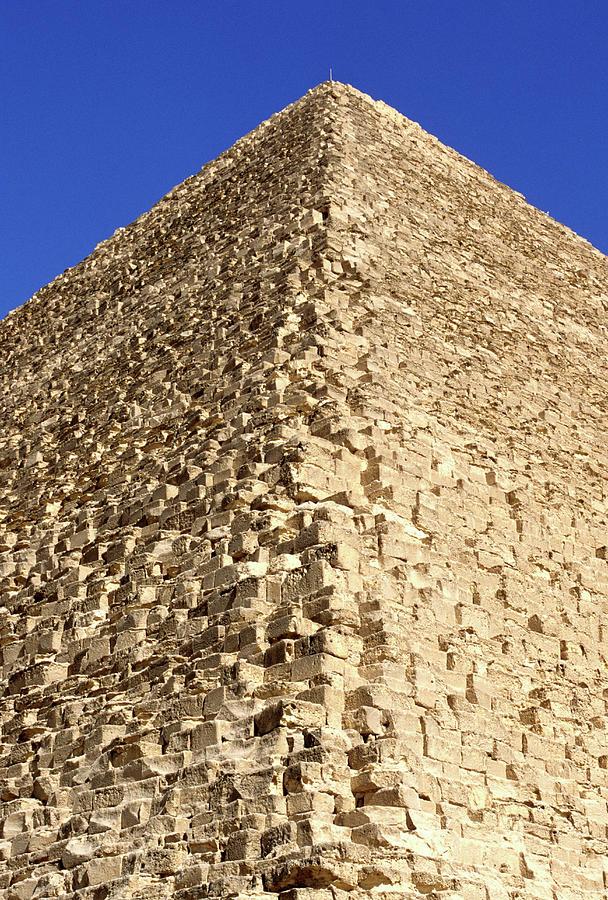Great Pyramid Of Cheops - Giza, Egypt Photograph by Hisham Ibrahim