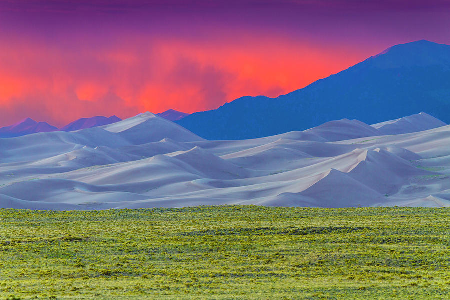 Great Sand Dunes National Park & Photograph by David H. Carriere