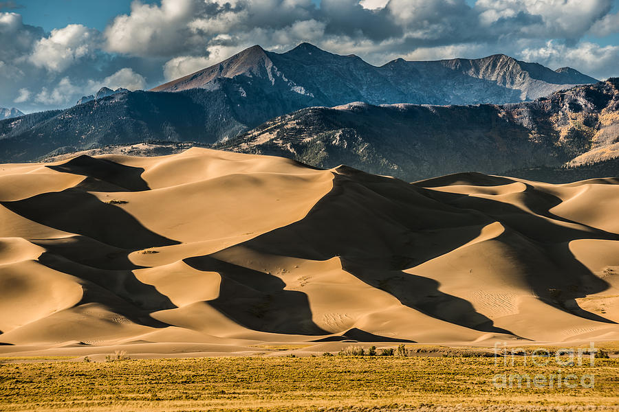 Southwest Photograph - Great Sand Dunes National Park Colorado by Kris Wiktor