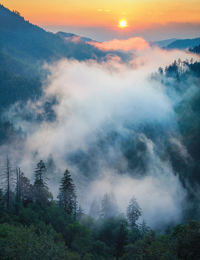 Great Smoky Mountain Sunset by Mike Koenig