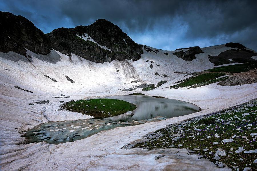 Great Trapos Alpine Lake Photograph