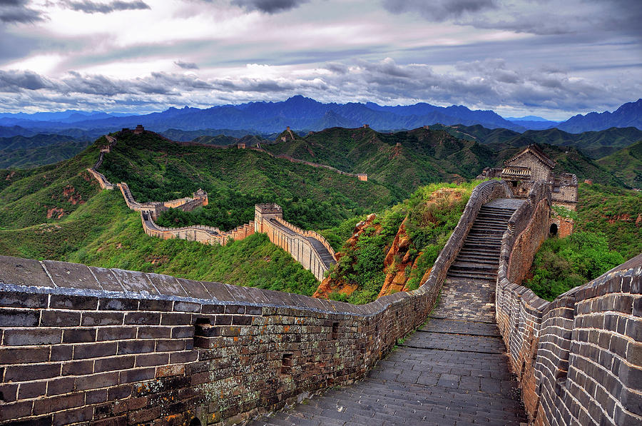 Great Wall Of China Photograph by Aaron Geddes Photography