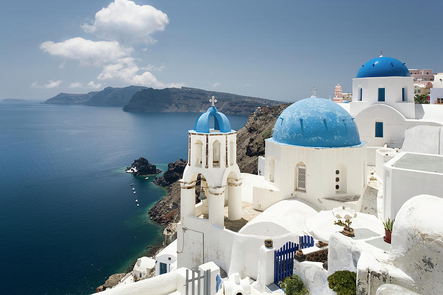 Greece, Cyclades, Santorini Island Photograph by Jorg Greuel
