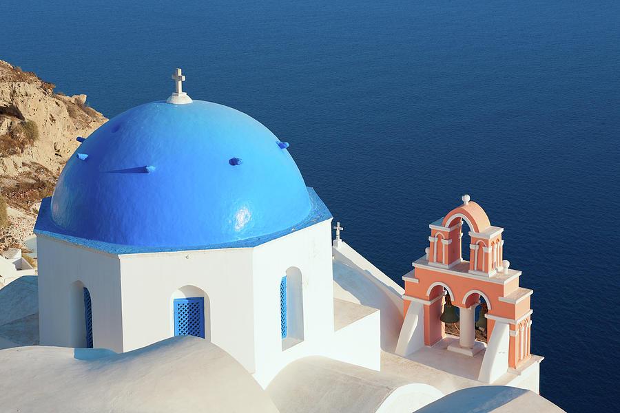 Greece, Santorini Views Photograph by Berenika l