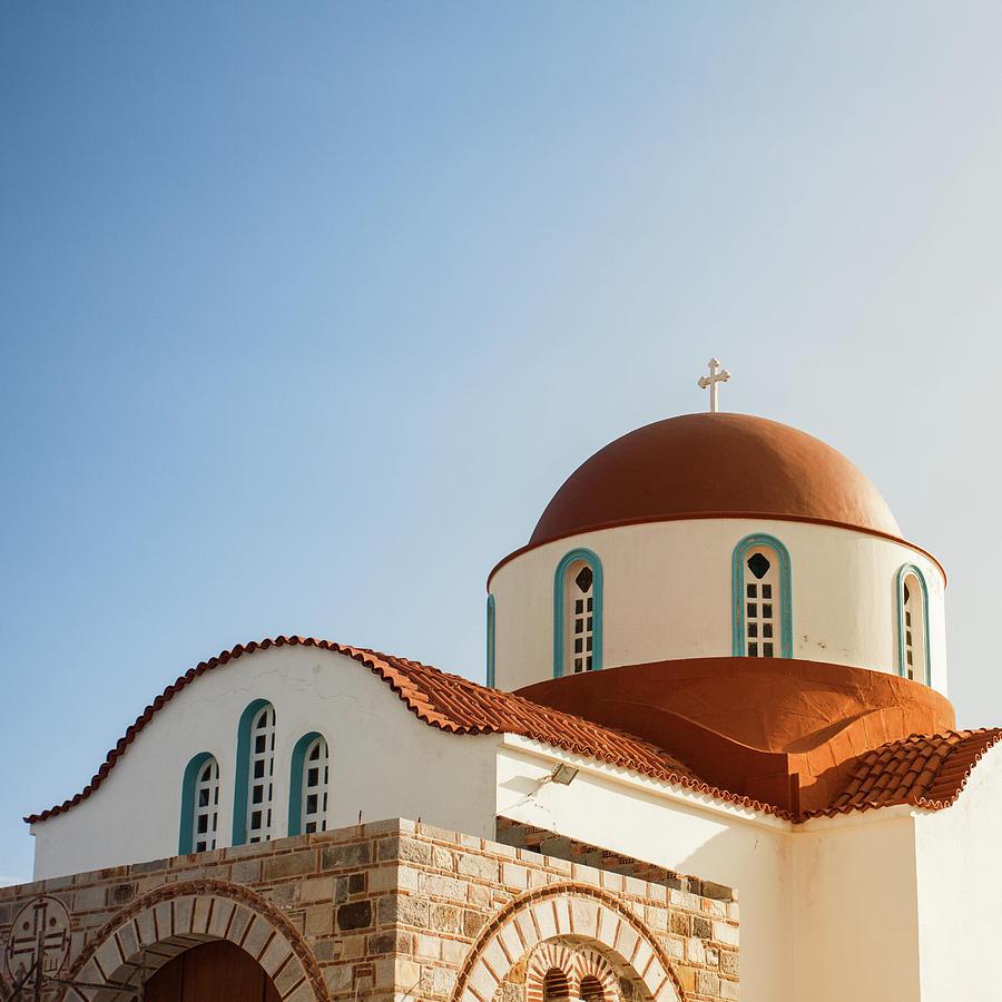 Greek Chapel Photograph by Deimagine