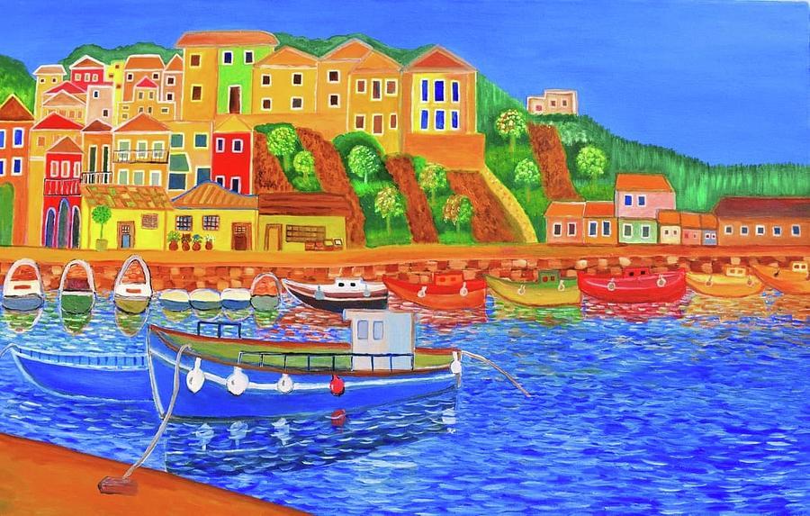 Greek Coast 2 by Magdalena Frohnsdorff