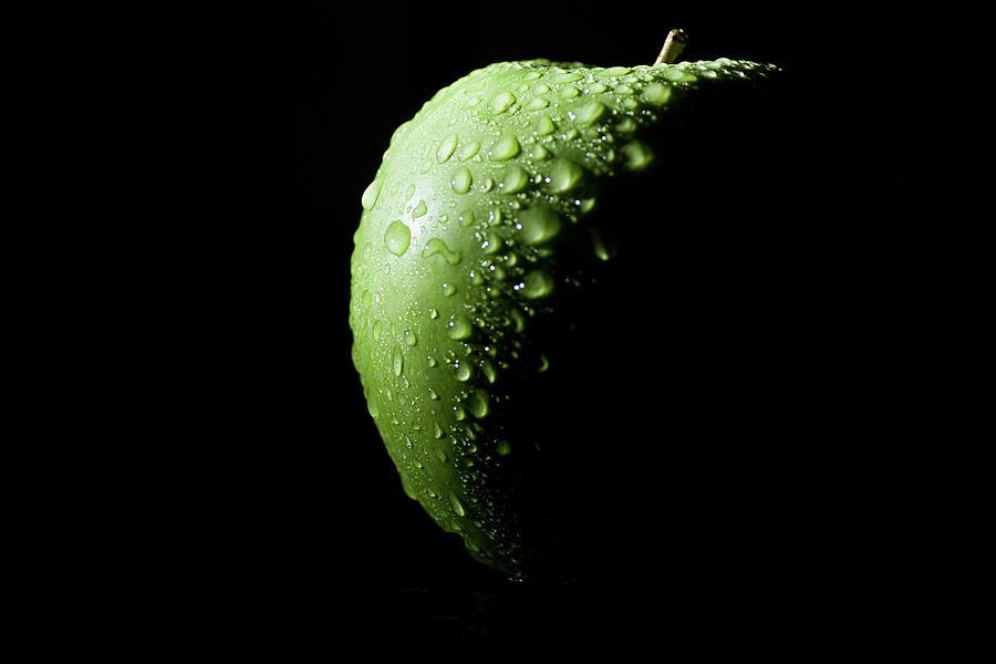Green Apple Photograph by By Felix Schmidt