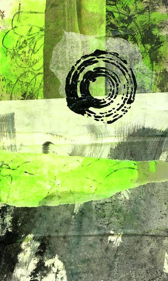 Green Balance No. 1 by Nancy Merkle
