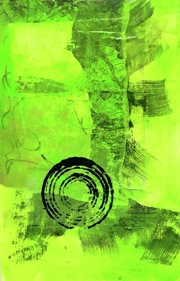 Green Balance No. 2 by Nancy Merkle