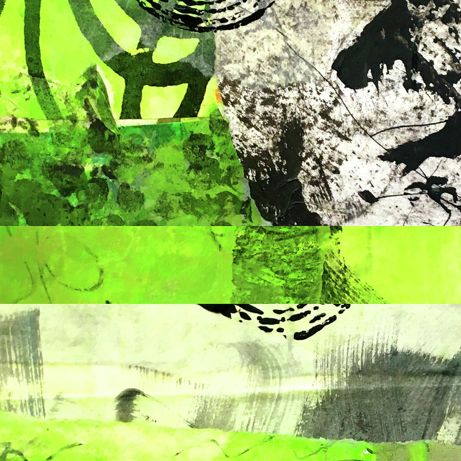 Green Balance No. 5 by Nancy Merkle