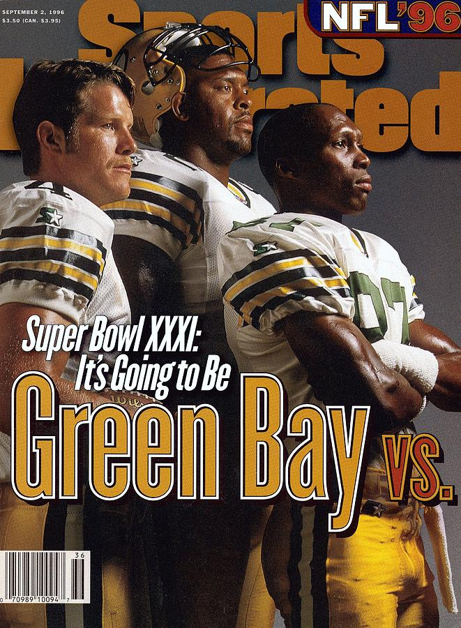Green Bay Packers, 1996 Nfl Football Preview Issue Sports Illustrated Cover Photograph by Sports Illustrated