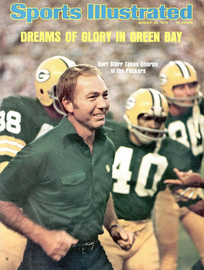 Green Bay Packers Coach Bart Starr Sports Illustrated Cover Photograph by Sports Illustrated