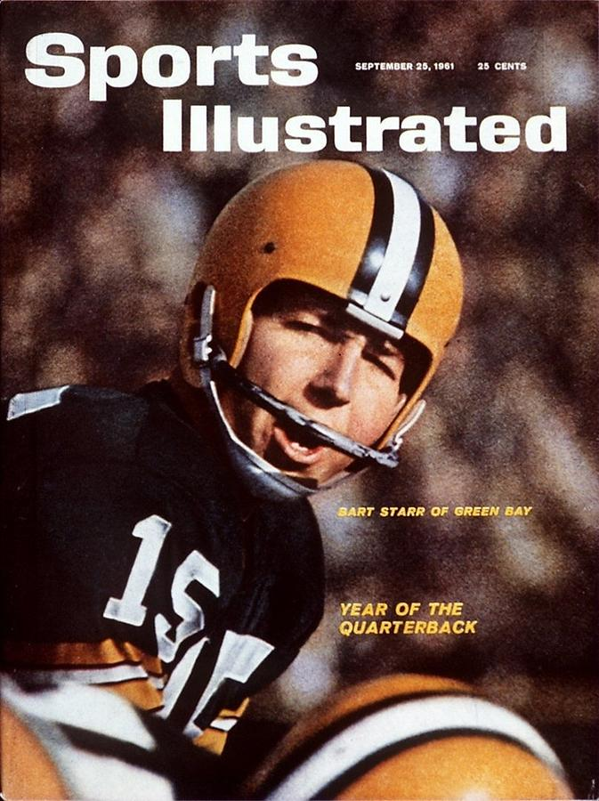 Green Bay Packers Qb Bart Starr Sports Illustrated Cover Photograph by Sports Illustrated