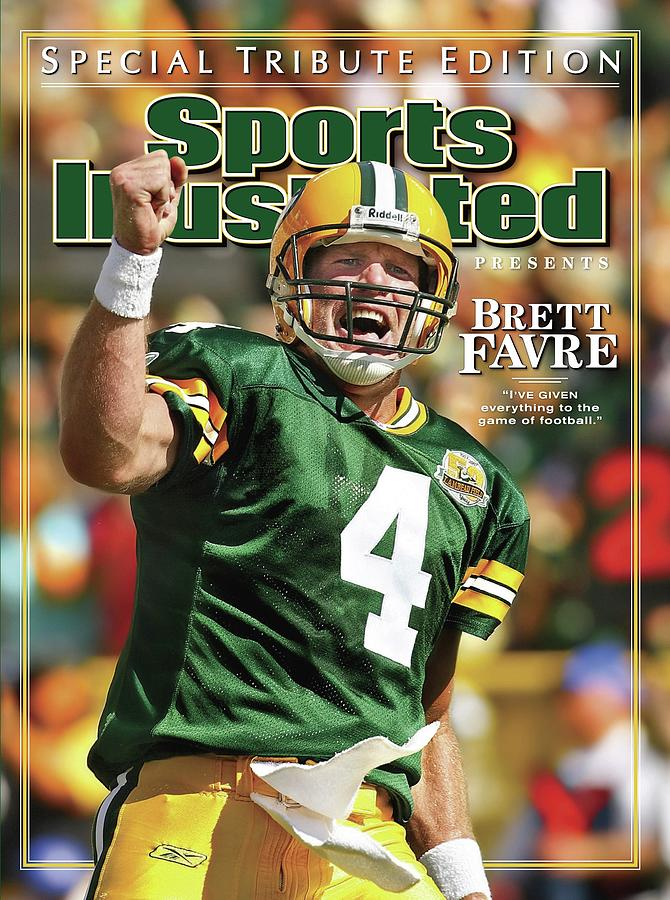 Green Bay Packers Qb Brett Favre Special Tribute Edition Sports Illustrated Cover Photograph by Sports Illustrated