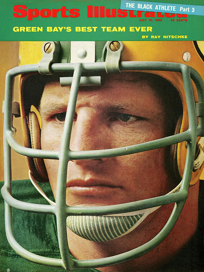 Green Bay Packers Ray Nitschke Sports Illustrated Cover Photograph by Sports Illustrated