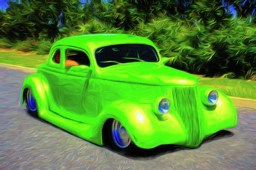 Green Coupe by Keith Hawley