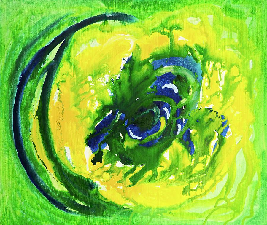 Green Eye Digital Art by Balticboy