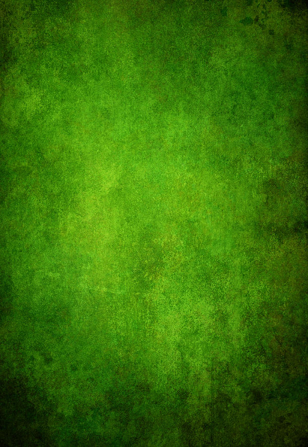 Green Grunge Background Photograph by Mammuth