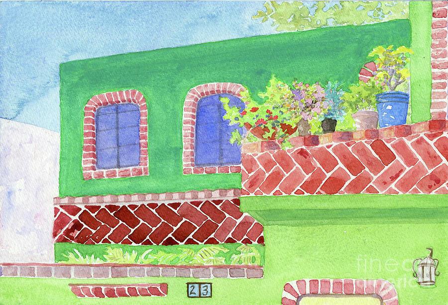 Green Hacienda by Anne Marie Brown
