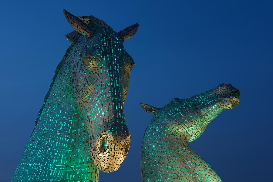Green Kelpies by Stephen Taylor