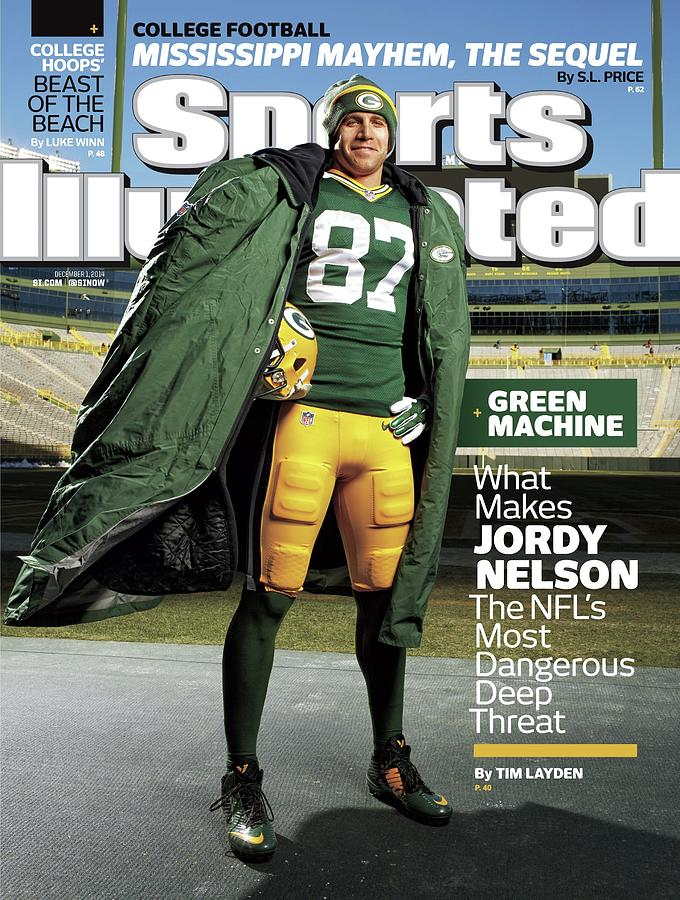 Green Machine What Makes Jordy Nelson The Nfls Most Sports Illustrated Cover Photograph by Sports Illustrated