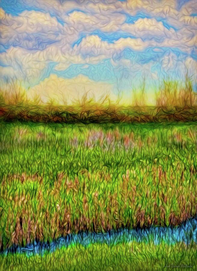 Green Meadow Peace by Joel Bruce Wallach