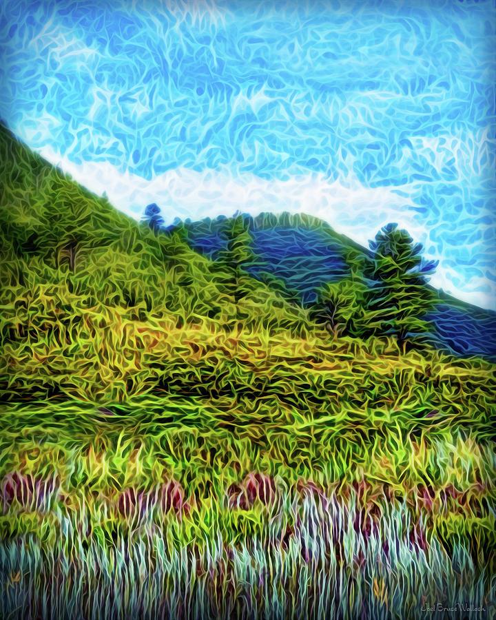 Green Meadow Spirit by Joel Bruce Wallach