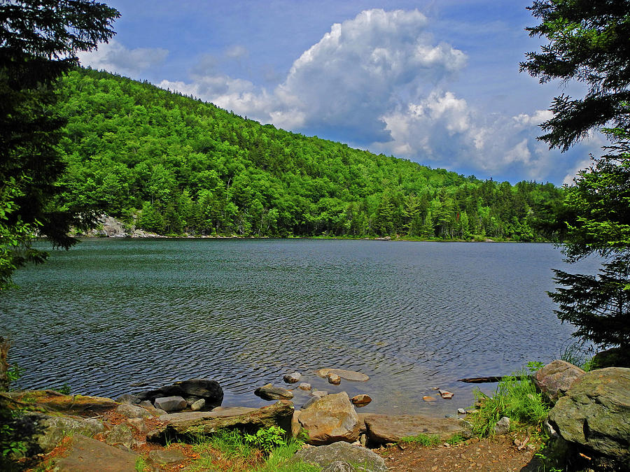 Green Mountain Little Rock Pond by Raymond Salani III