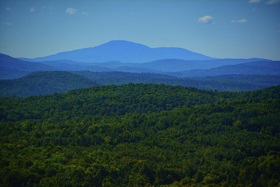 Green Mountains from White Mountains by Raymond Salani III