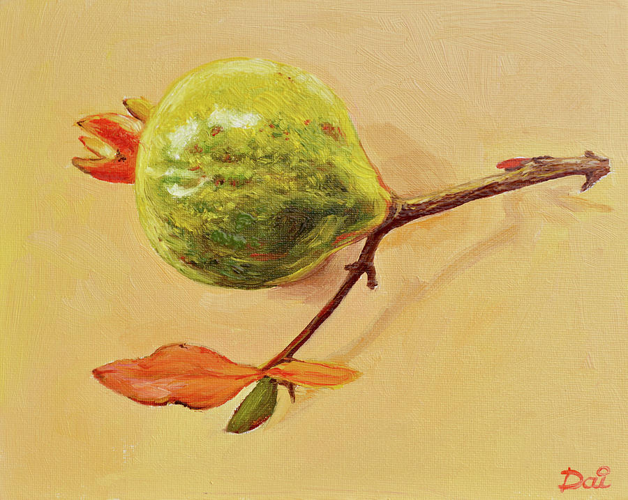 Green Pomegranate by Dai Wynn