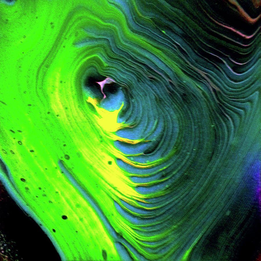 Green Pour by Art by Kar