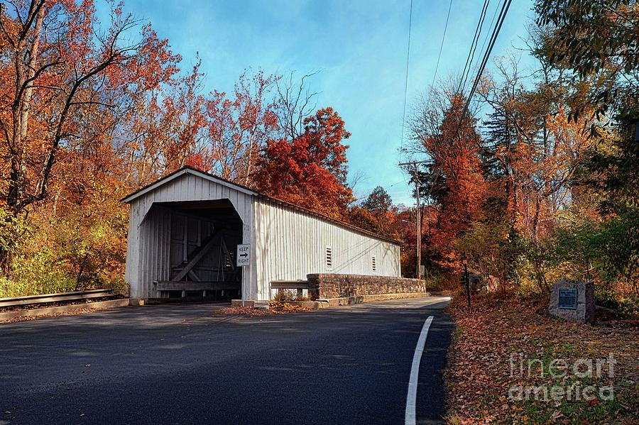 Green Sergeant's Covered Bridge by Mark Miller