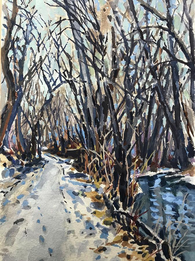 Greenbelt Snow study by Les Herman