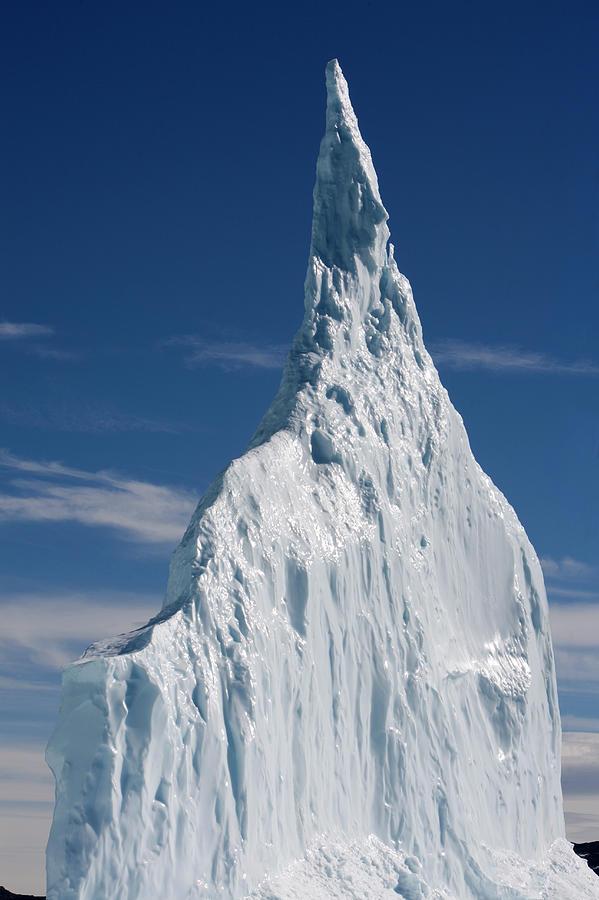 Greenland, Ilulissat, Massive Icebergs Photograph by Paul Souders