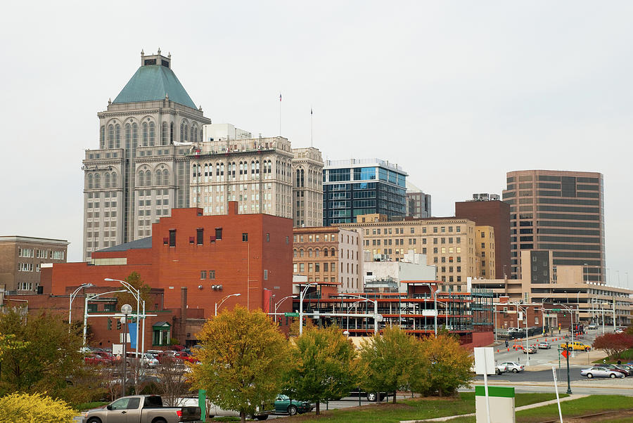 Greensboro, Nc Skyline Photograph by Davel5957