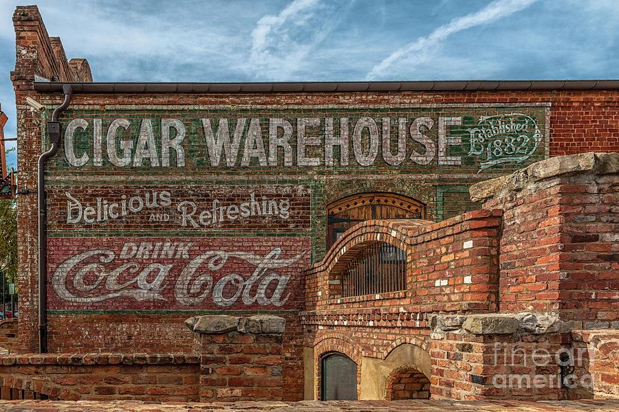 Greenville History - Cigar Warehouse Photograph
