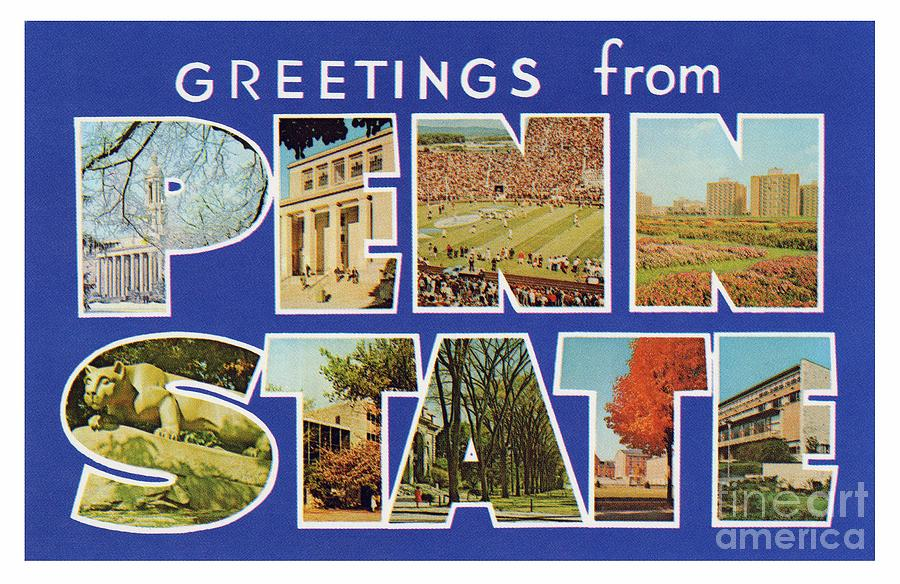 Penn State Greetings by Mark Miller