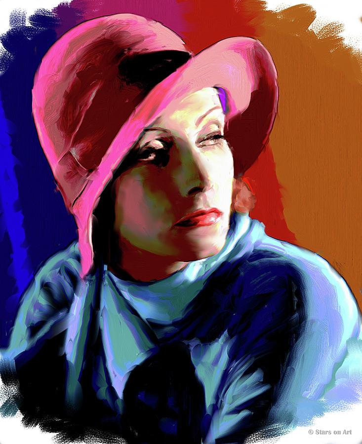 Greta Garbo Painting Painting