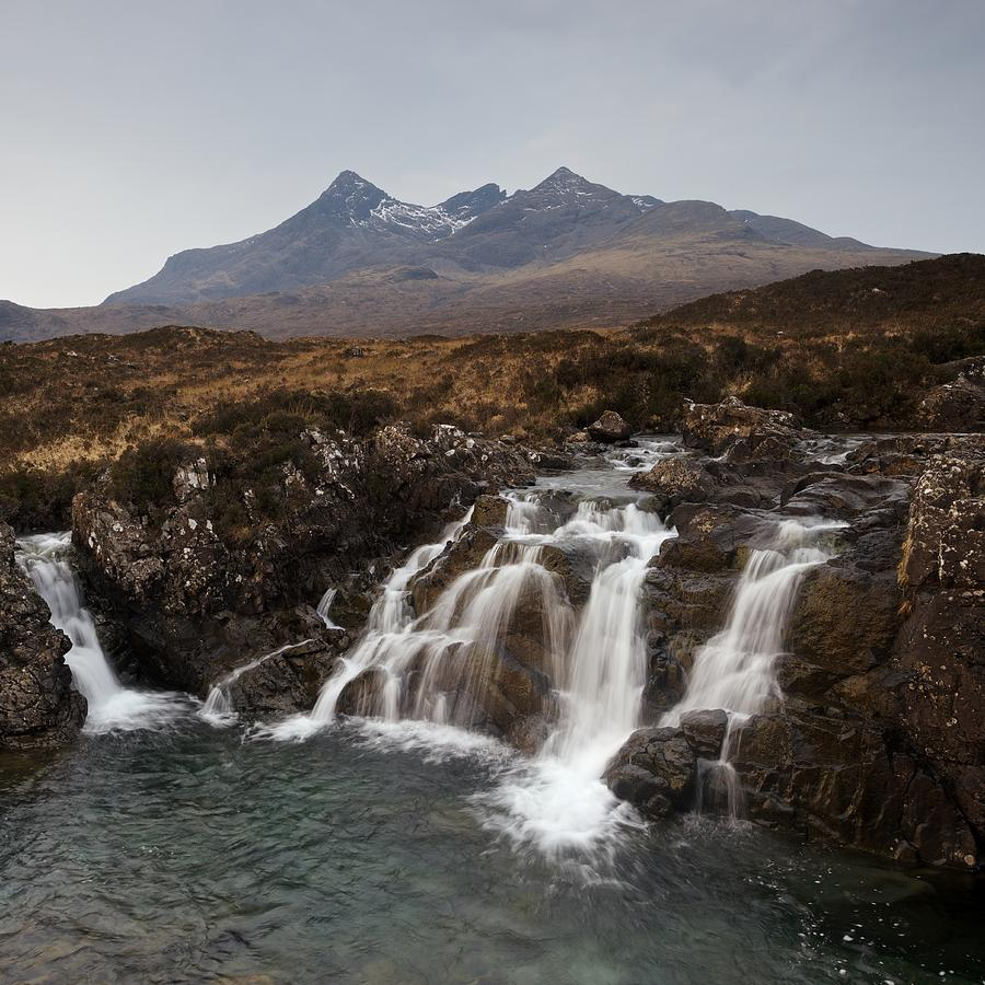 Grey Skies over the Cuillin by Stephen Taylor