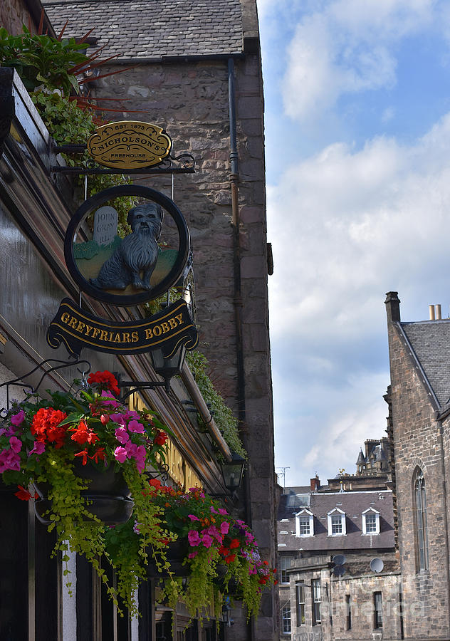 Greyfriars Bobby's Bar by Yvonne Johnstone