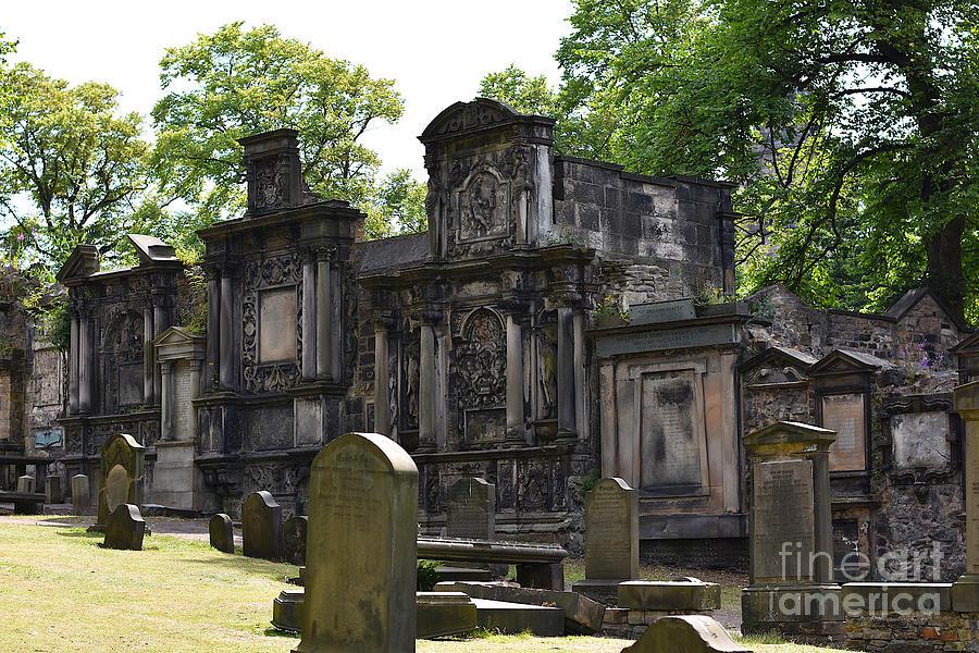 Greyfriars Kirkyard Monuments by Yvonne Johnstone
